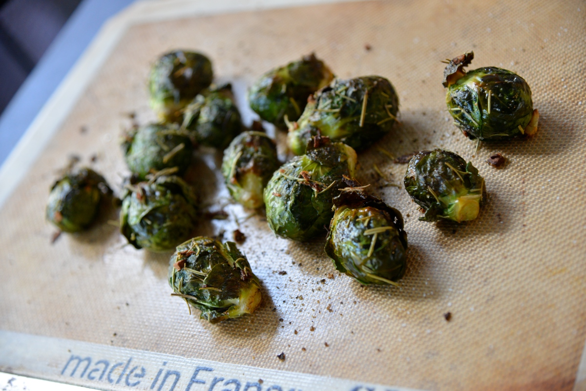 Bon Voyage Brussel Sprouts