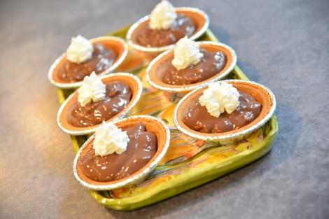 {Chocolate Pie 210 Calories}