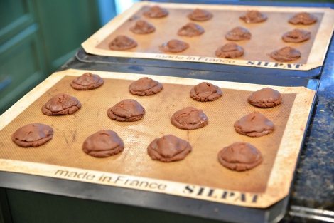 {3rd Step Gooey Nutella Cookies}